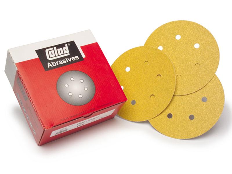 3600xxxx Colad Adhesive Discs 6 Holes 150mm Colad Adhesive Discs  6 Holes (150mm)