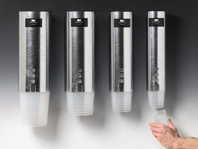 94990350 94990700 94991400 94992300 Colad Mixing Cup Dispenser Colad Mixing Cup Dispenser