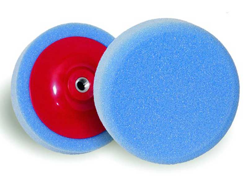 010021 Hamach Foam Pads(Hard) Hamach Foam Pads (Hard) – 150mm – Spindle 14mm – Foam Pad Complete