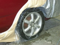 thumbs 6100 Colad Plastic Wheel Covers Spray Cover