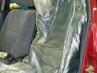 thumbs 6110 Colad Plastic Seat Covers Spray Cover
