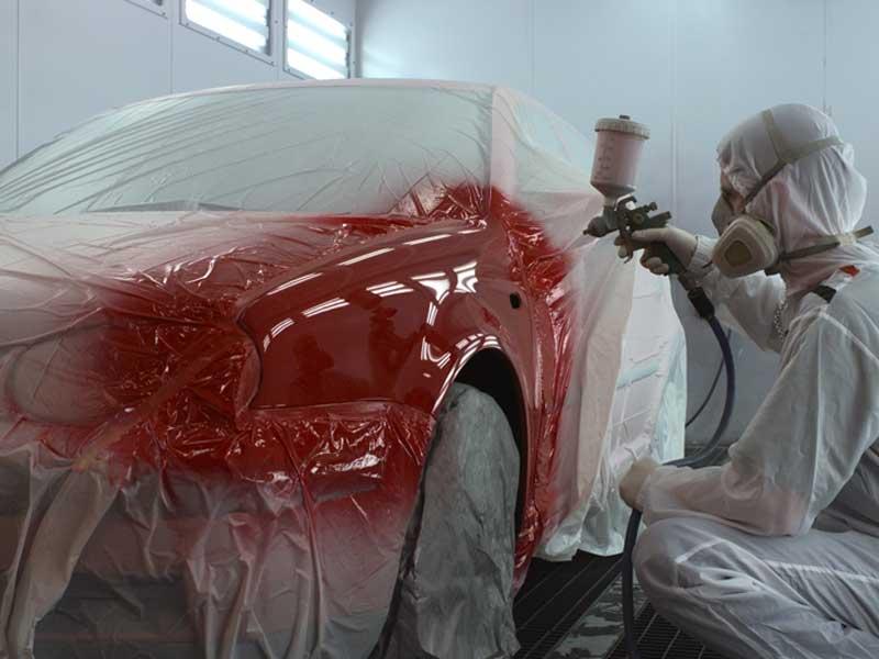 6345 Colad Spraymask Application Paint Colad Spraymask – Application