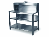 thumbs 000460 000461 Hamach RVS Stainless Steel Mixing Table HT180 Stainless Steel Table & Container