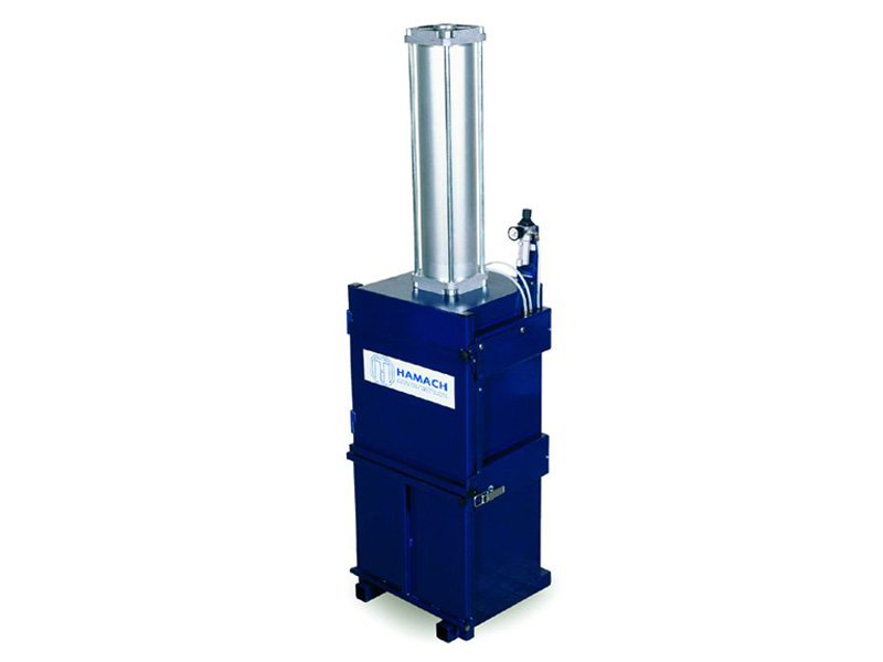 000802 Hamach Press for Tins,Paper and Plastic Foil Hamach Press for Tins, Paper and Plastic Foil