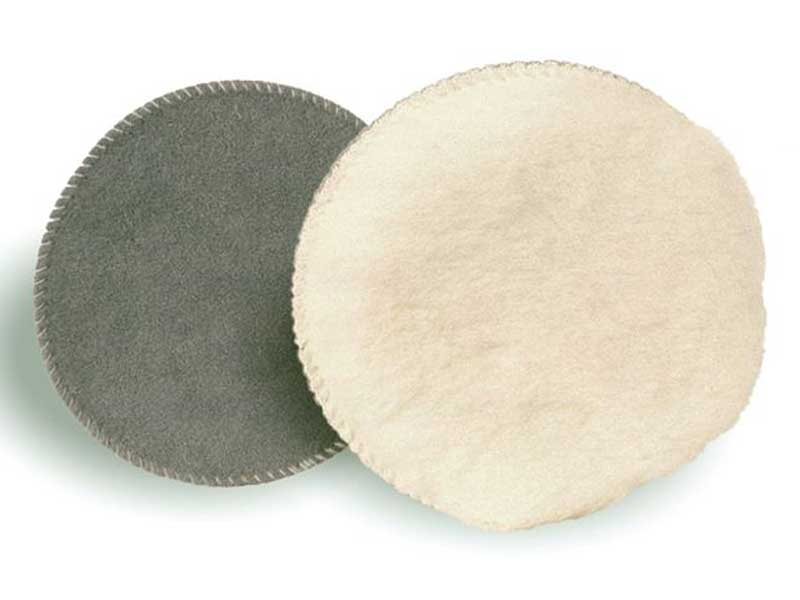 010023 Hamach Wool Pads Hamach Wool Pads – 150mm – Tackup (Velcro) – Polishing Sheep Skin – Spotrepair