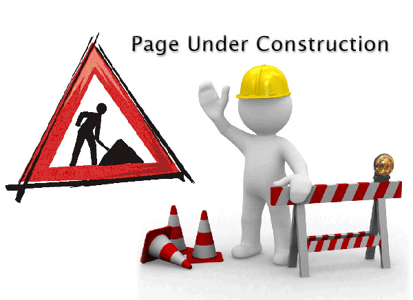 page under construction Technicals